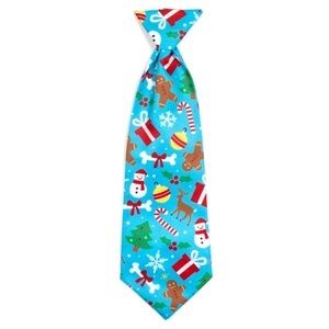 The Worthy Dog Winter Wonderland Dog Neck Tie